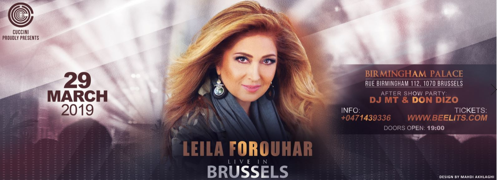 Leila Forouhar Live In Concert